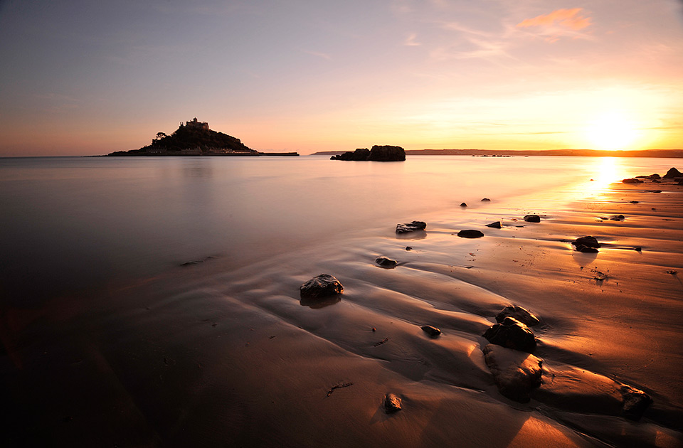 St.Michaels Mount - Sunset