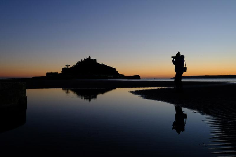 St.Michaels Mount Silhouette