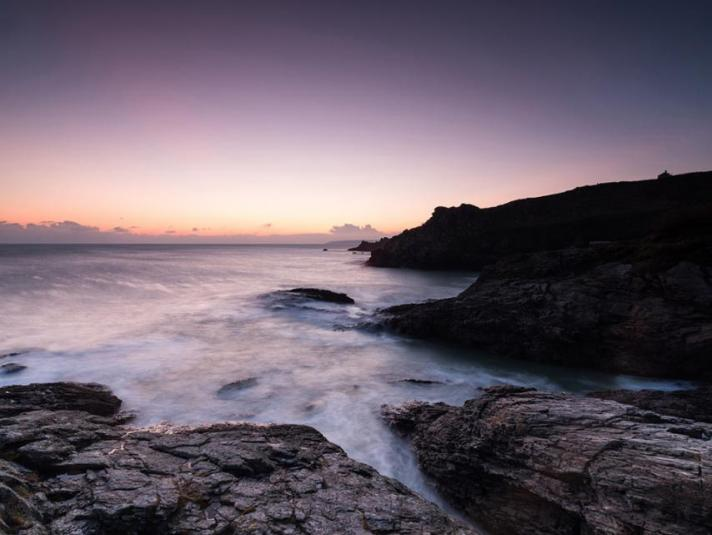 Prussia Cove Dawn to Dusk