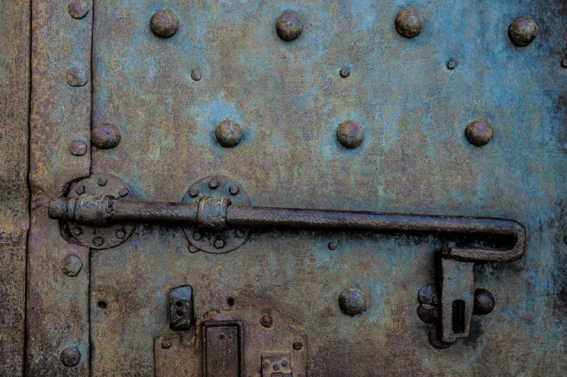 Old Door Lock Pisa