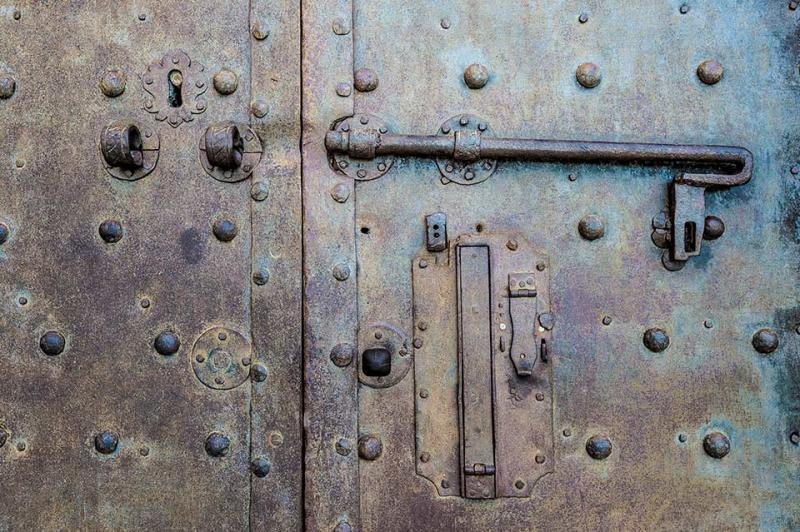 Old Door Pisa