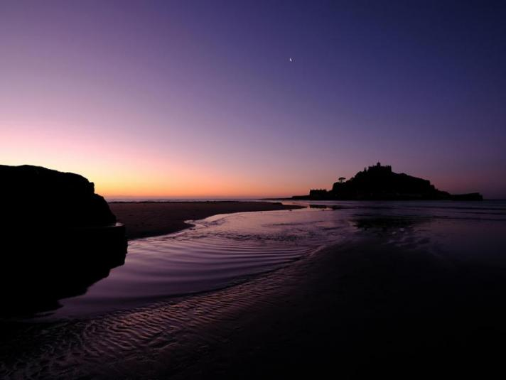 St.Michaels Mount Dawn to Dusk