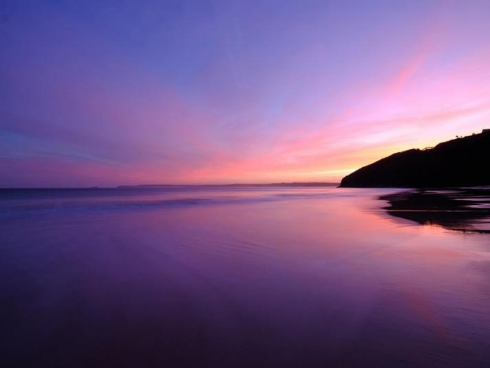 Carbis Bay Beach Dawn to Dusk