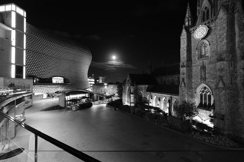 Birmingham Bullring Right up your street project